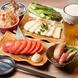 ●ちょい飲みやゆっくり食事を楽しめる単品価格!