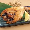 料理メニュー写真【炭火焼】下関産 こだわりの零℃熟成 のどぐろの炙り焼