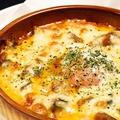 料理メニュー写真海老とアボガドのマヨチーズ焼き