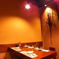 落ち着いた和の寛ぎ空間で和食を愉しむ。個室もあり。