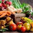 国産の野菜を使用。栽培や運送まで徹底管理