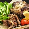 料理メニュー写真牛テールの黒胡椒焼