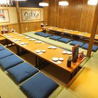 最大宴会36名様★ゆったり宴会部屋ございます。