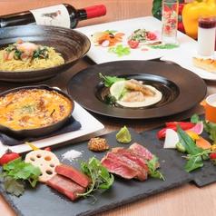FELICE BASIL BK Cafe 福岡天神ソラリアプラザのコース写真