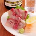 鮮魚料理も多数!季節によって仕入れを変え、新鮮な食材をご提供いたしております!