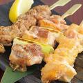料理メニュー写真【比内地鶏】おまかせ焼き鳥三種盛り