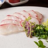 新鮮なお魚!旬の鮮魚を店主自ら見極め仕入れています!季節ものはその時その時でしか味わえないので楽しいですよね!ぜひこちらもご堪能ください♪