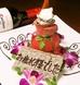 歓送迎会や誕生日のお祝いに★肉タワーでサプライズ!!