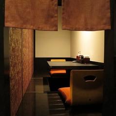 デートやコンパにも使える個室あります!