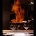 ◆アニバーサリープラン◆ノウェーサーモンのマリネや国産牛フィレ肉とサーロインの食べ比べ等にホールケーキが付いた贅沢コース