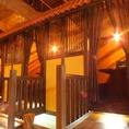 リゾートのコテージのような高床式個室♪個室でベビフェを堪能しよう♪【【宇都宮/個室/ランチ/誕生日/女子会/飲み放題/肉/パスタ/パンケーキ/カフェ/オムライス/パフェ/半個室】
