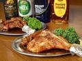 料理メニュー写真骨付き鳥 親鶏