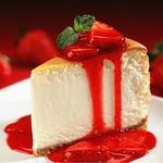 ニューヨークスタイルの濃厚チーズケーキが大人気♪ケーキは4種あります。