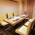 6名様用テーブル個室。