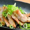 料理メニュー写真豚トロのねぎ塩焼き