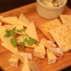 今月のチーズ盛り合わせ