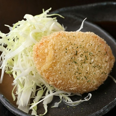 料理メニュー写真佐賀のかに出汁コロッケ