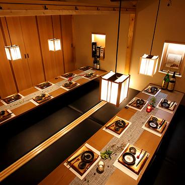 隠れ海鮮居酒屋 魚京助 新橋駅前店の雰囲気1