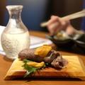 料理メニュー写真うにく寿司~ 肉と雲丹のコラボ~