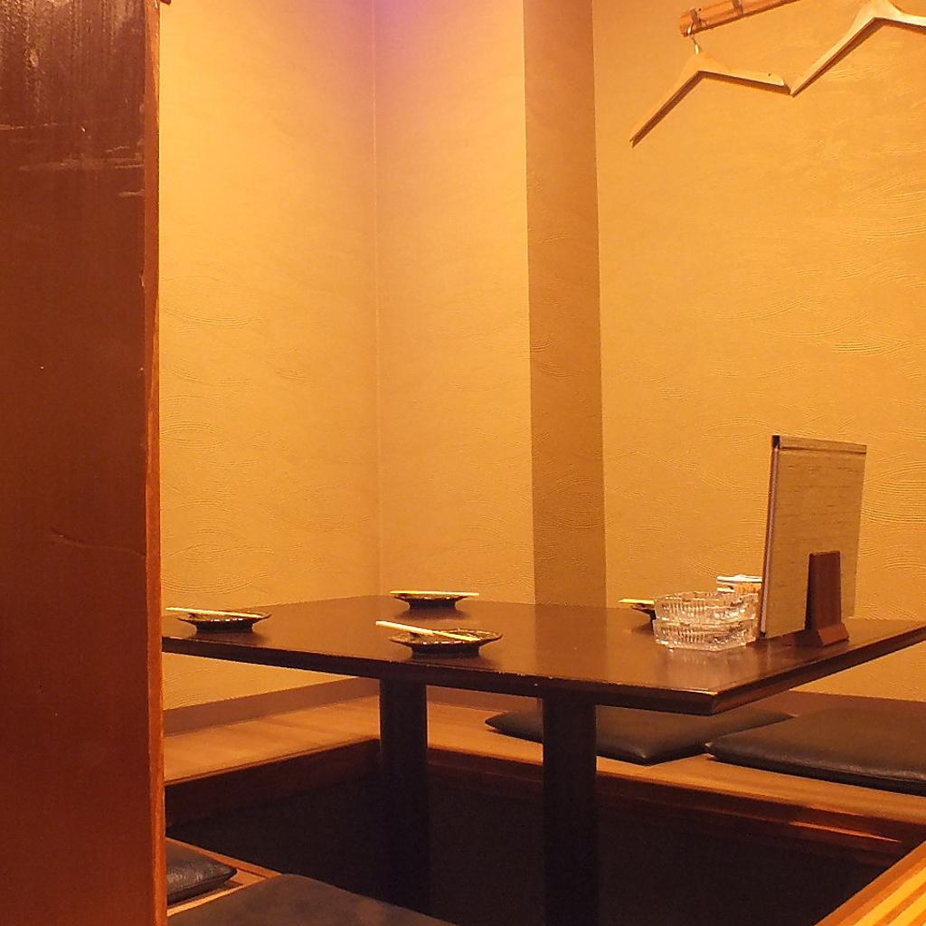 個室+掘りごたつ式となっております!寛げる空間をご用意しております!接待としてお使い下さい!!