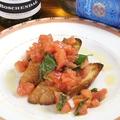 料理メニュー写真フレッシュトマトのブルスケッタ