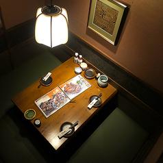 お仕事終わりにフラッと一杯☆金山駅北口から近く、各個室が揃ってる居酒屋♪足元ゆったり掘りごたつ個室。気の会う仲間と飲み会を楽しみましょう♪周りの人を気にせず、時間が経つのを忘れられる落ち着いた個室席があるのは十四郎☆
