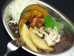 5種の揚げ野菜カレー