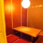 4名用の掘りごたつ個室です。