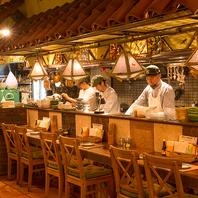 OPENキッチンでタイ料理を堪能♪