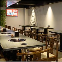 テーブル席は用途様々♪宴会はもちろん、デートや女子会、記念日etc幅広いシーンでお使いいただけます♪