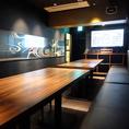最新UGAカラオケ完備の完全予約制の貸切プライベートルーム。二次会や歓送迎会など各種パーティーにピッタリ!