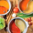 こだわりのスープ★6種のスープ(コク旨味噌・醤油・ピリ辛・柚子塩・薬膳・トマト)