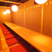 21名用の掘りごたつ個室です。