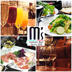 Italian Bar m′s イタリアンバル エムズの写真