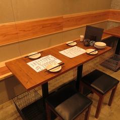 大名でアクセス○気軽に使えるテーブル席♪
