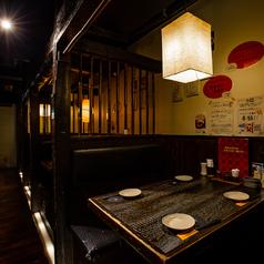 4名様までBOX席×4、新宿南口での居酒屋宴会・個室飲み会にもぜひご利用ください。