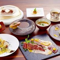 和食とフレンチの贅沢で見事な調和をお楽しみください。