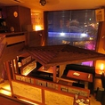 開放感溢れる大型ウインドに、天井の高い広々ソファー席は団体様や気の置けない仲間との宴には文句なしのスペース!