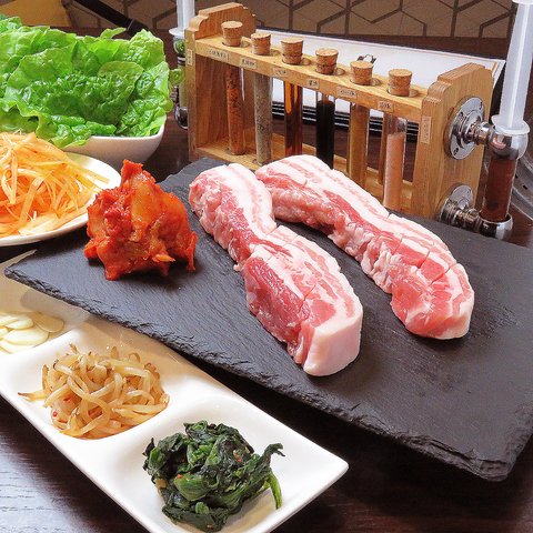 豊田市で厚切りサムギョプサルと韓国料理を楽しめる韓国居酒屋♪