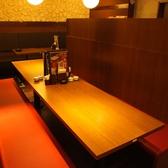 最大10名様までご利用できるボックス席もご準備しております◎~水炊き・焼鳥 とりいちず 池袋東口店~☆池袋 居酒屋 焼鳥 女子会 宴会 食べ放題