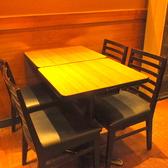 レイアウト変更可能なテーブル席をご用意しております♪少人数から大人数までご利用できますのでお気軽にお問合せ下さい♪新橋でパーティを探している方にオススメ♪