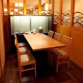 【小宴会にも:4~6名様用】テーブル席