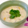 料理メニュー写真 薩摩ハーブ悠然鶏のトムカーガイ