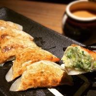 一般的な餃子とは一味違う松吉の餃子