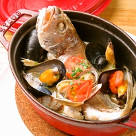【魚介】仕入れによって変わる旬魚バルメニュー