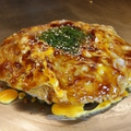 料理メニュー写真トロトロ半熟豚玉焼 (玉子W・豚W・イカ天)