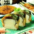 料理メニュー写真【特製】さば寿司(1貫)