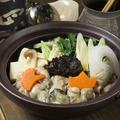 料理メニュー写真カキ味噌鍋