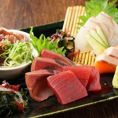 料理メニュー写真お造り5種盛り合せ【宴】
