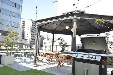 FLOW garden(フロウガーデン) 屋上バーベキュービアガーデン 栄店